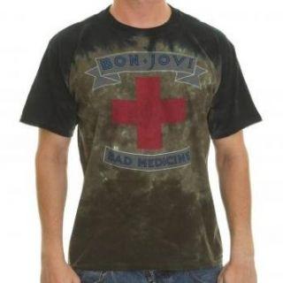 Shirt Bon Jovi ~ Bad Medicine   schwarz Bekleidung