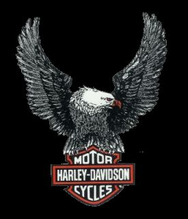 Harley Davidson Adler Bar + Shield Aufkleber 28x22cm Eagle Decal