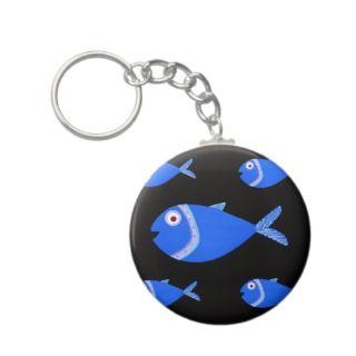 Fry Fish Keychain