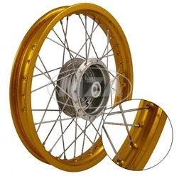 Simson Tuning Felge 2,75 x 16 GOLD S51 Schwalbe Rad 70