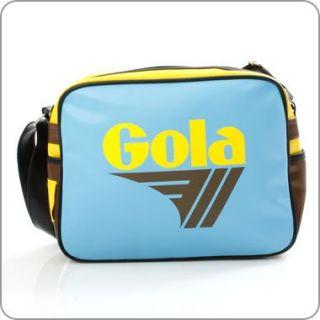 Gola Tasche Redford Lollipop   Sky Blue/Yellow/Brown +++ GL205ET