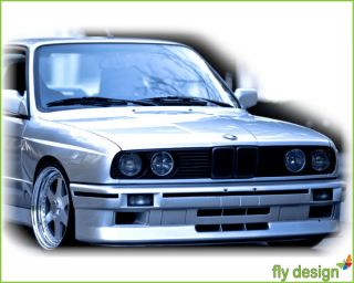 BMW E30 Nieren Kühlergrill Grill Schwarz 3er M3 83 91