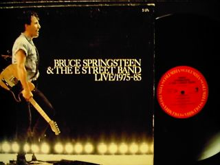BRUCE SPRINGSTEEN Live 1975 85 5 LP Box Set NICE w/Book