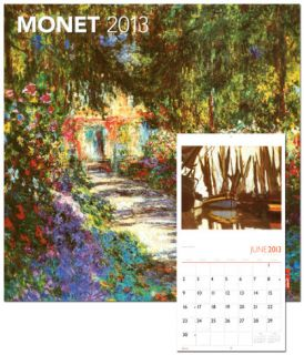 Monet, Claude   2013 Wall Calendar Calendars