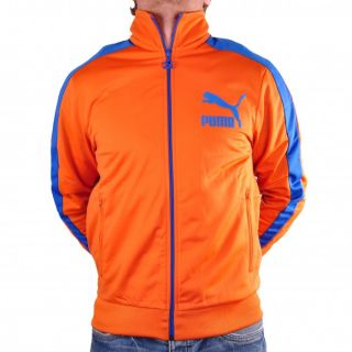 Puma Heroes T7 Track Jacket Jacke Trainingsjacke Burnt Orange 557872