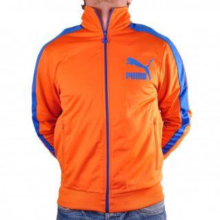 Puma Heroes T7 Track Jacket Jacke Trainingsjacke Burnt Orange 557872