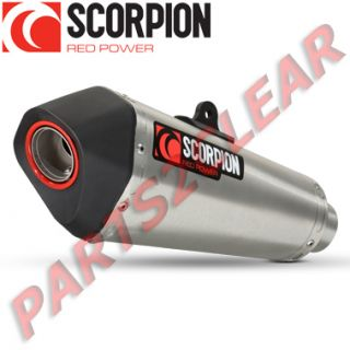 HONDA CB 1000 R 2008  SCORPION EXHAUST SERKET TAPER STAINLESS STEEL