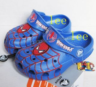 CROCS™ spider man blue KIDS SIZE GR 23 30