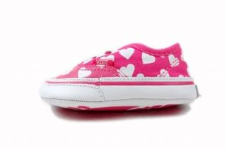 VANS Authentic (Hearts) fandango pink/true white Schuhe