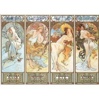Editions Ricordi 6001N15433A  Artstones MUCHA THE FOUR SEASONS, 1895