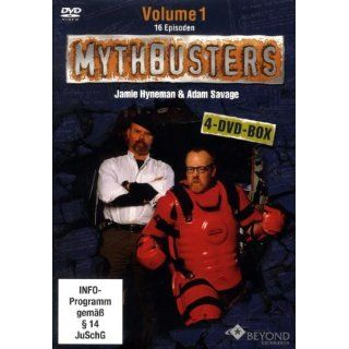 MythBusters   Die Wissensjäger Volume 1 [4 DVDs] Jamie