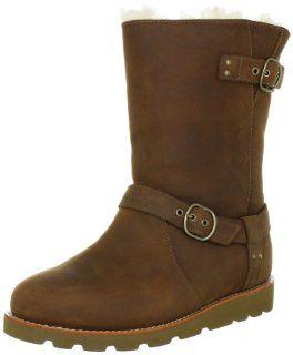 UGG Australia Damen Noira Acorn Sheepskin Boots Schuhe