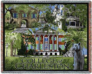 College of Charleston, 2008 Throw Blanket