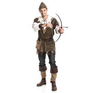 Hood Herren Robin Hood Kostüme Größe 48/50 Spielzeug