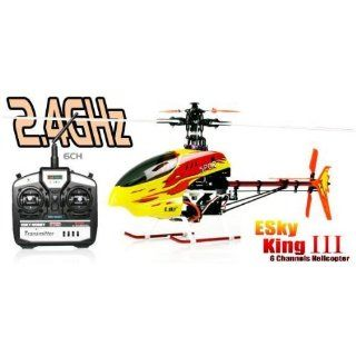 Sky Honey Bee King 3/III 2.4Ghz Edition IM ALUKOFFER 6 Kanal 3D