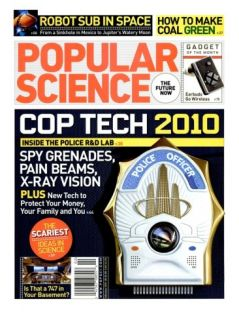 Front cover of Popular Science Magazine: February 1, 2007 Posters