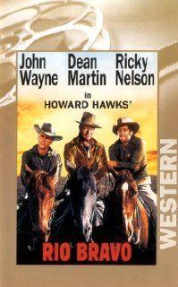 Rio Bravo [VHS] John Wayne, Dean Martin, Ricky Nelson, B. H