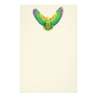 Double Yellow Headed  Parrot Stationery