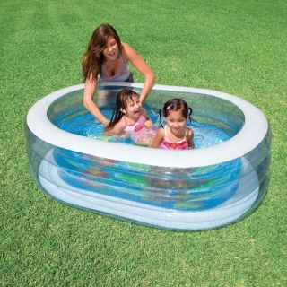 Kinder Pool Planschbecken Wal 163 x 107 x 46 cm