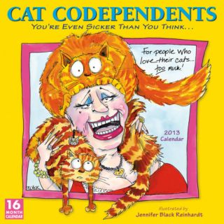 Cat Codependents   2013 12 Month Calendar Calendars