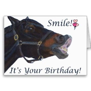 Cards Note And Funny Horse Birthday Greeting Card Jpg 320x320 Happy Wishes Horses