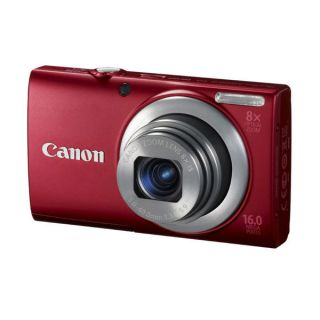 Canon PowerShot A4000 IS Rot Digitalkamera 16,0 MP