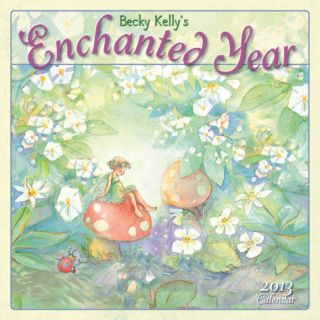 Enchanted Year, Becky Kellys   2013 12 Month Calendar Calendars