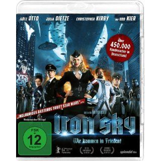 Iron Sky   Wir kommen in Frieden [Blu ray] Julia Dietze