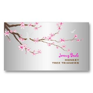cherry tree trimmers ♥♥♥ Business Card Template