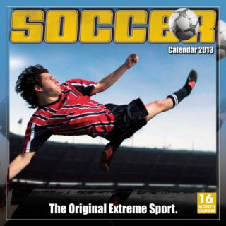 Soccer The Original Extreme Sport   2013 16 Month Calendar Calendars