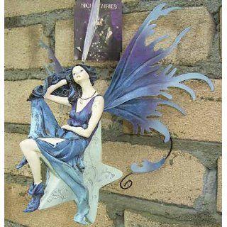 xx Wunderschöne Elfe auf Stern xx Figur xx Night Fairy Fairi xx Fee
