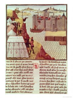 The Histoire Du Grand Alexandre by Jean Vauquelin, circa 1465 Giclee Print