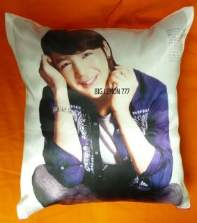 Jang Geun Suk Photo Cushion Pillow Cover /Pillowcase Satin Q12