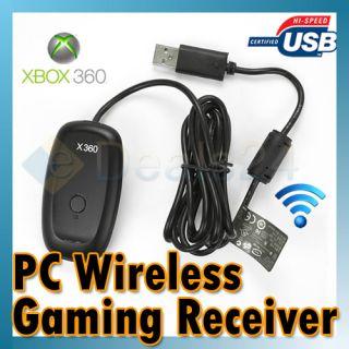 Wireless Gaming GAME Receiver Empfänger für XBOX 360 PC schwarz