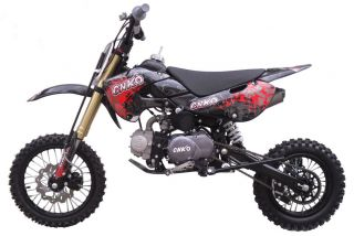 Cenkoo CNKO 125 125cc 14/12 Cross Dirt Bike Pit Bike Schwarz