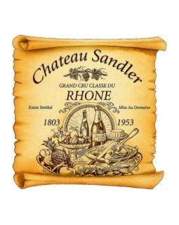 Rhone Wine Label Giclee Print