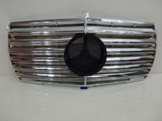 Mercedes Benz W123 Kühlergrill Grill Avantgarde Chrom