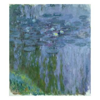 Waterlilies, 1916 19 (Oil on Canvas) Giclee Print by Claude Monet