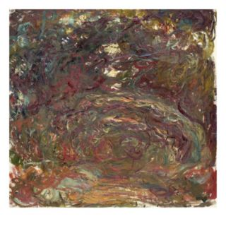 The Rose Path, 1920 22 (Oil on Canvas) Giclee Print by Claude Monet