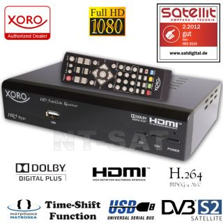 Fuba Sat Anlage 8Teilnehmer inkl. 4 Digital FULL HD TV Sat Receiver