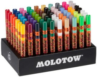 Molotow One 4 All 127 HS Complete Display 70er Set