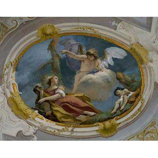 Kunstreproduktion Giovanni Battista Tiepolo Hagar und Ismael in der