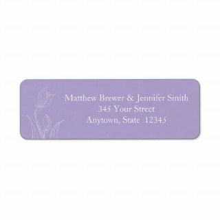 Custom Envelope Return Address Label Stickers