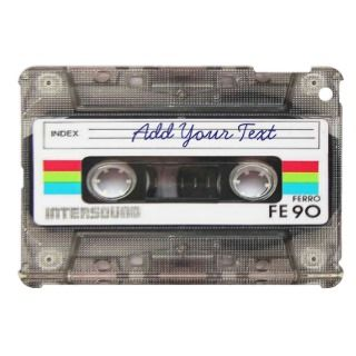 Funny Vintage 80s Retro Music Cassette Tape iPad Mini Case