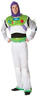 Deluxe Buzz Lightyear Mens Toy Story Fancy Dress Adult Disney Space