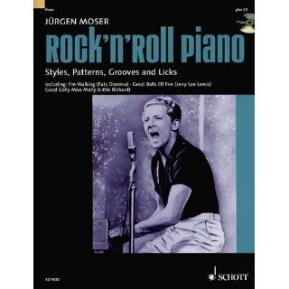 Rockn Roll Piano: Styles, Patterns, Grooves and Licks. Klavier