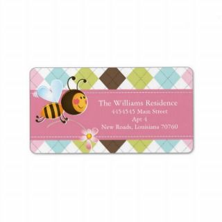 Bee Mine  Valentines Day (Todays Best Award) Custom Address Label