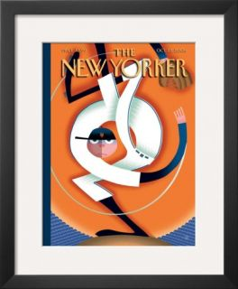 The New Yorker Cover   October 23, 2006 Framed Giclee Print by Bob Staake
