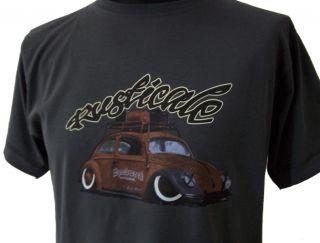 Rustical T Shirt VW Käfer Ratte by Speedwerk , JDM Style, Oldschool