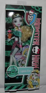 Monster High Puppe LAGOONA BLUE Beach / Skull Shores Version NEU OVP
